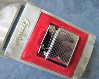 Vintage Kreisler Cigarette Lighter in Its Original Box