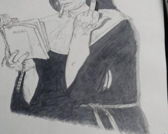 Illustration Original A4 size