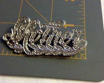 Vintage Mother Brooche, Mother's Day gift idea, gifts for Mom