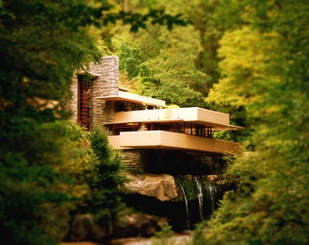 Architecture, Fallingwater photography