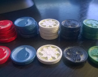 Magic The Gathering Coins , Tokens , Counters