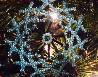 Blue & Black Ornament