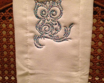 Personalized cloth diaper burp cloth
