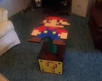Super Mario Side Table