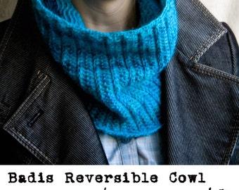 Badis Reversible Cowl Pattern PDF / Cowl Crochet Pattern