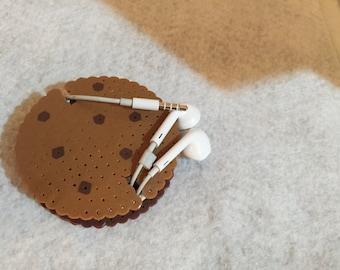 Chocolate Chip Headphone Holder