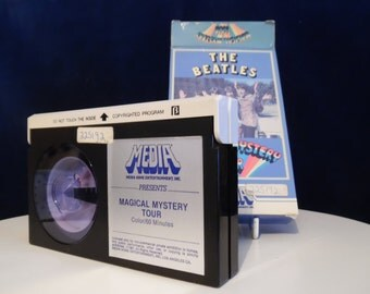 THE BEATLES Magycical Mystery Tour Cassette Beta - Collection Beatles - Beatles Vintage - Original Beatles - Anthology of Rock-