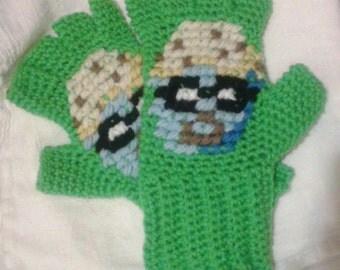 DJMuffinGloves - Fingerless Gloves