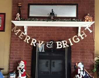 Merry & Bright Banner