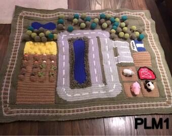 Handmade Farm Playmat