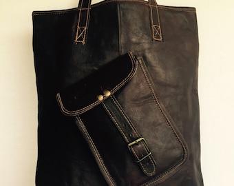 Leather Handbag // Leather Tote Bag // Leather Bag