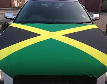 Jamaica Car Bonnet Flag