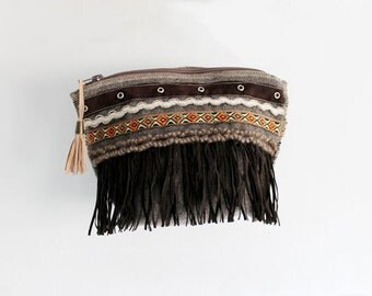 Clutch hand made in Barcelona