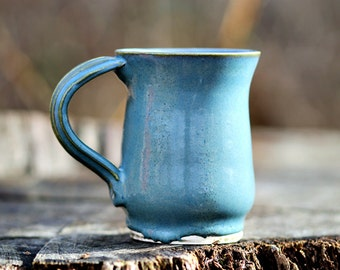 Blue Mist Pottery Mug