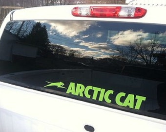 22 Inch Artic Cat Window Decal