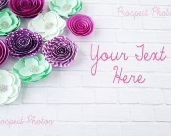 Spring Styled Stock photo| Purple flower Styled Stock Photography| Blog photos | Product mockup