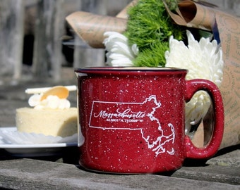 Massachusetts State Campfire Mug