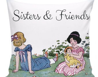 Sisters & Friends Pillow