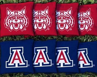 Arizona Wildcats Cornhole Bag Set