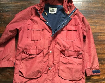 1980s Woolrich mountain Parka/ sz large