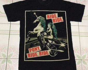 Lady Gaga the born this way. pony,ride,ride.