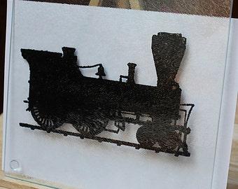 Locomotive Cutting Board