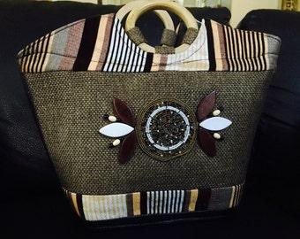 Handbag, handmade in Uganda
