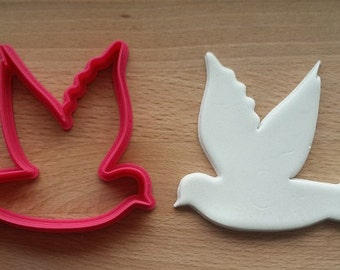 Wedding Bird Cookie Cutter