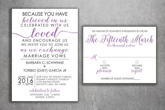 Cheap Wedding Invitations Sets: Affordable Wedding Invitations Set Printed Cheap Wedding