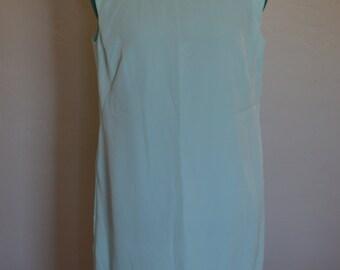 Home made light blue shift dress
