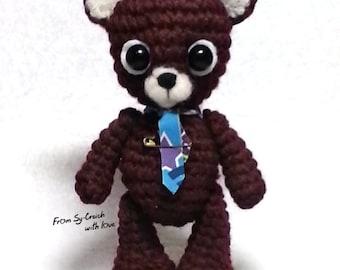 Crochet baby bear
