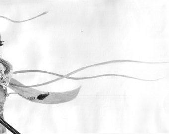 The Warrior Mulan (Print)