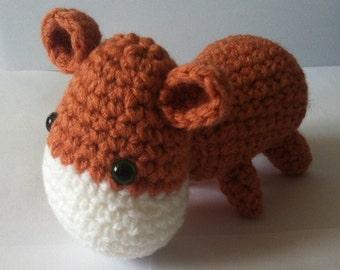 Hippo, Amigurumi Hippo, Crochet Hippo, Handmade Soft Toy