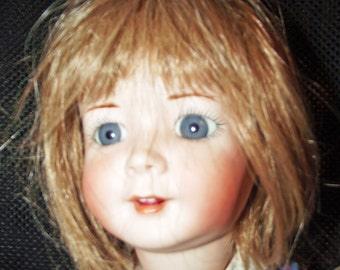 "Antik Repro doll of ""Otto Gräfenhahn"", ca. 46 cm"