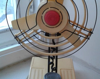 Russian electric fan - Soviet Vintage Electric Fan - Old Fan - USSR 80 s. - Russian old fan - Vintage fan - Russian vintage