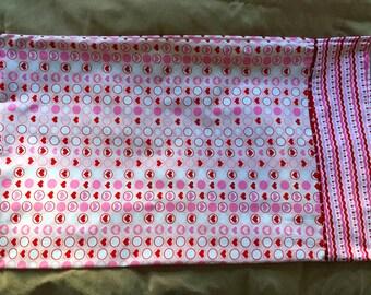 Heart pillowcase