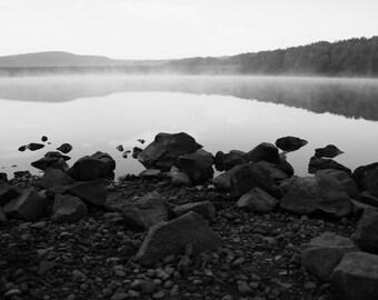 Early Morning Rocks