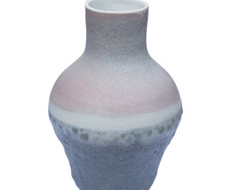 Purple and Grey Belly Vessel