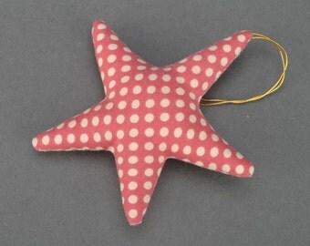 Soft interior toy Polka Dot Star