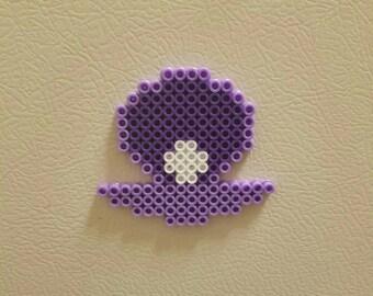 Seashell Perler Magnet