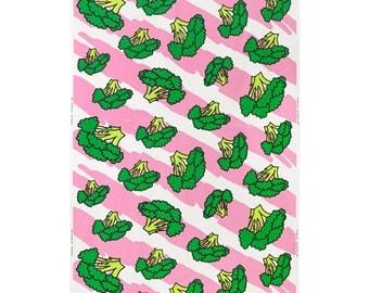 IKEA ANNIKEN Fabric, Pink multicolour /203.081.07 /Width 150 cm