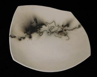 Horse hair raku plate