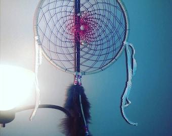 Purple and Fuschia Dawning- Dream Catcher