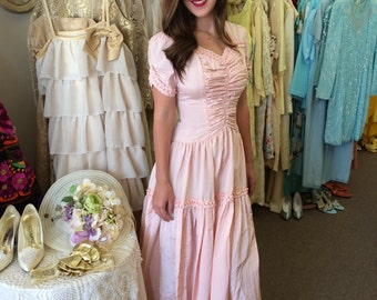 Vintage 1940 Bridesmaid dress
