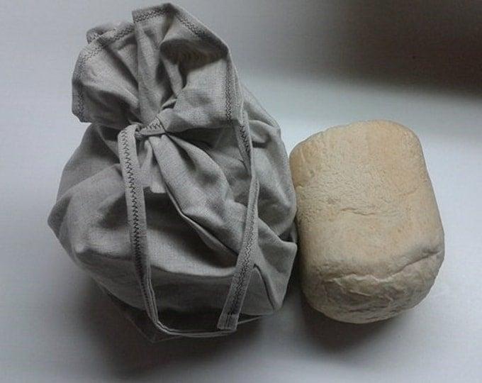 Irish Linen Bread Bag, Anti-Microbial, Fine Linen, Irish Linen, Custom Sizes Upon Request