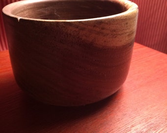 Brown Walnut Bowl