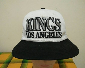 Rare Vintage LOS ANGELES KINGS Cap Hat Free size fit all