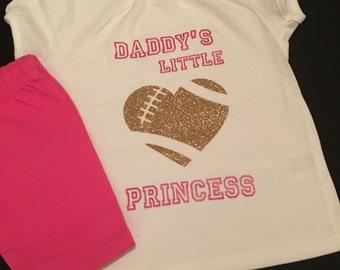 Daddy's Football Princess