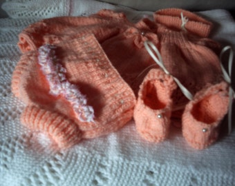 Baby -  baby reborn doll  dress set