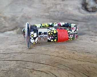 EXPRESS SHIPPING,Multi Colored Imitation Leather Bracelet, Womens Jewelry, Chrome Hook Clasp Bracelet,Bangles.Charm Bracelet,Gifts for Her
